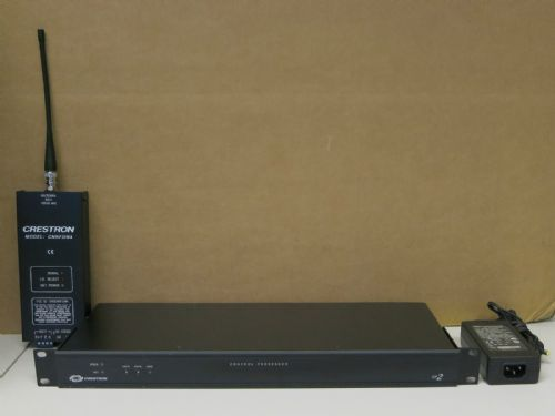 Crestron CP2 Control Processor With CNRFGWA Wireless Receiver & Power Supply